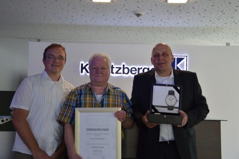 40 Jahre Dienstjubiläum Jörg Eckelmann