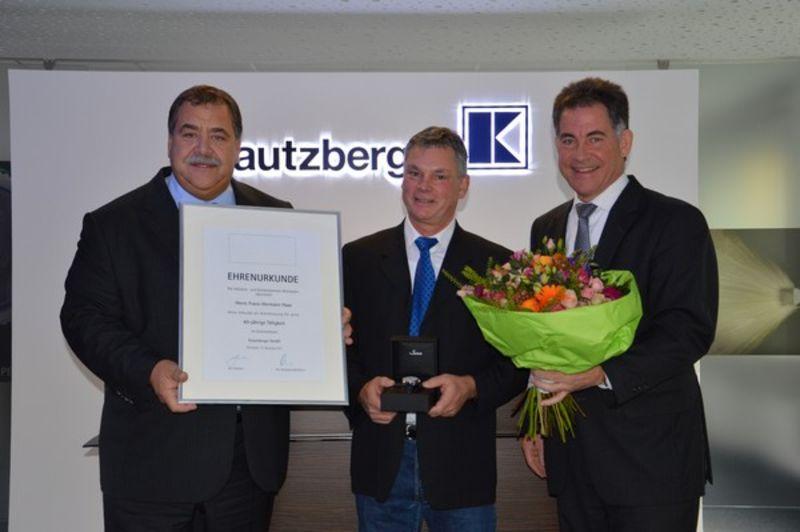 Franz-Hermann Haas celebrates 40 years of service