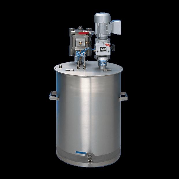 Réservoirs d'alimentation sans pression, contenu 25 – 500 litres
