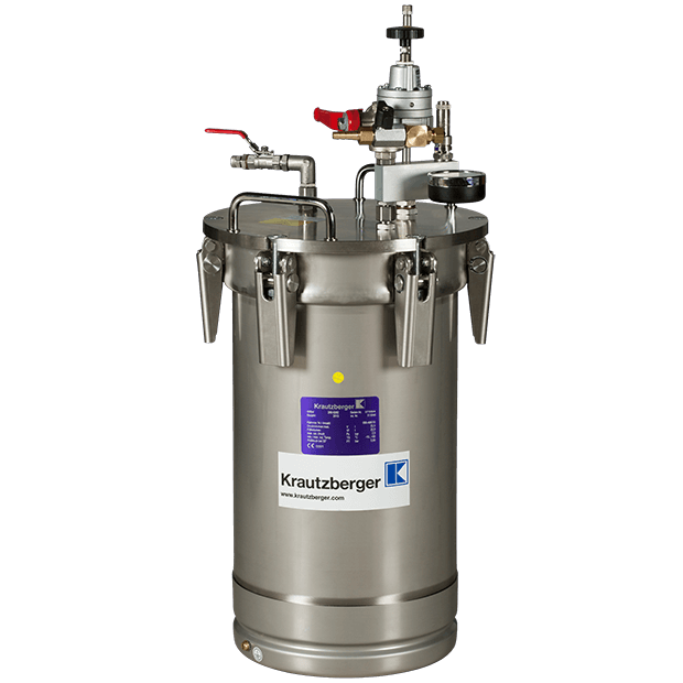 20 litres 6 bar, stainless steel