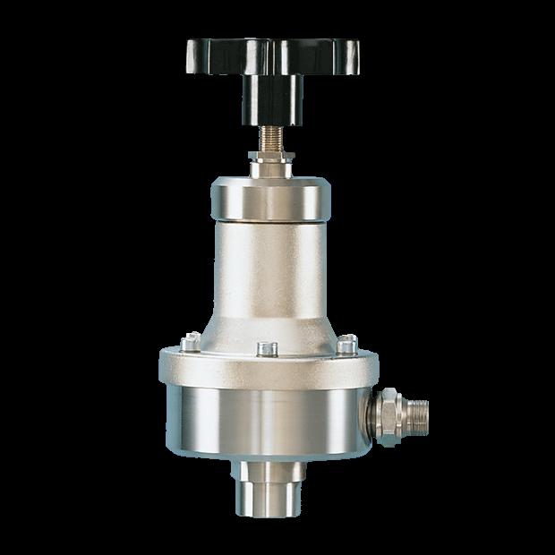 Regulador de material a presión