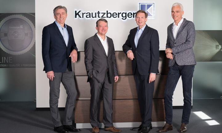 Von links nach rechts: Michael Wolf, Christof Plocher, Michael Fritz, Thomas Schneider