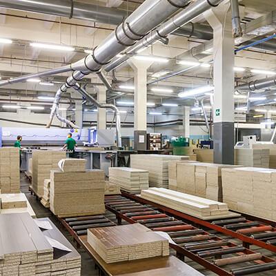 Holzindustrie von Krautzberger – einen natürlich Rohstoff prozesssicher beschichten!