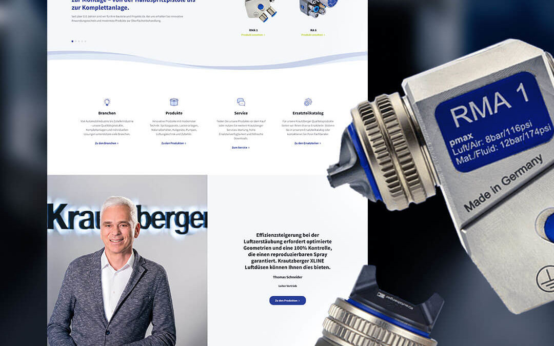 Krautzberger's new website will be live as of June 2021