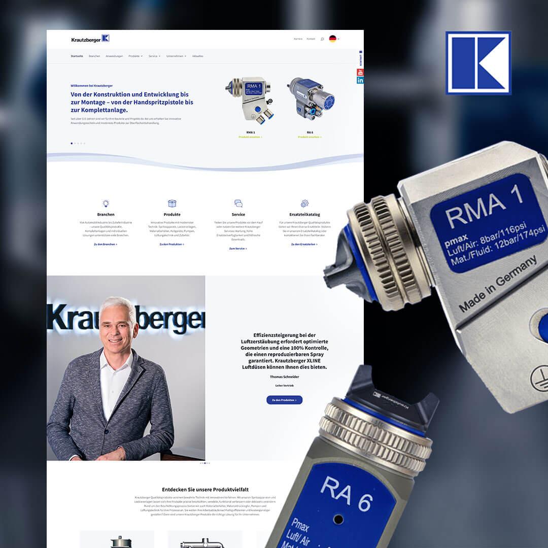 News: Neue Krautzberger Website